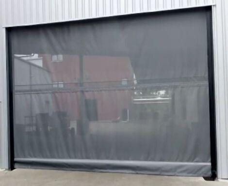 rollotor windschutzsystem f r tore mit regelm iger nutzung. Black Bedroom Furniture Sets. Home Design Ideas