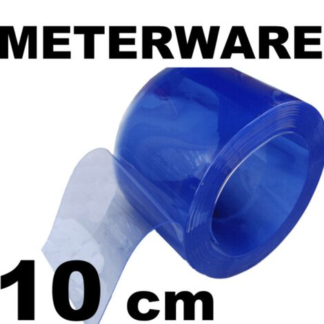 PVC-Lamelle, transparent, Meterware 10 cm 3 mm