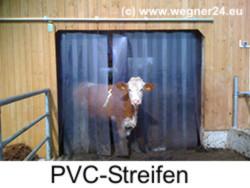 PVC-Lamellen und Streifenvorhänge für Tore und Durchgänge